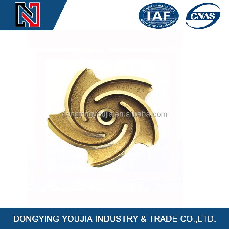 Brass impeller and impeller parts