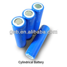 18650 li-ion 3.7V 1900mAh cylinder rechargeable battery