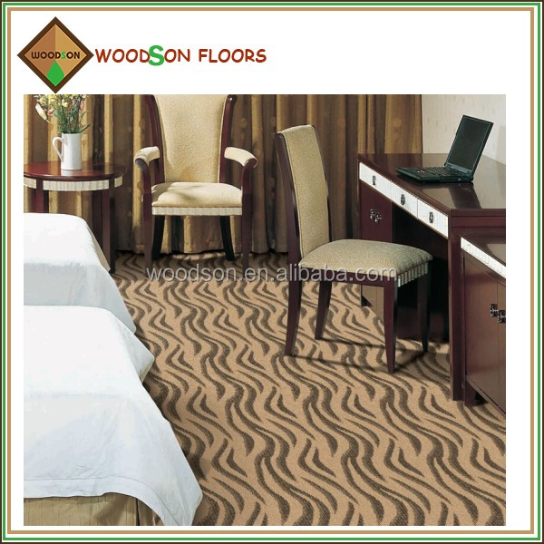 SD131 Commercial Brown Wall to Wall PP Floor Carpet Roll