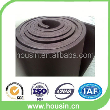 Shock Absorption nitrile rubber foam insulation sheets