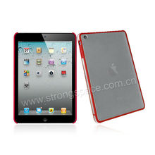 For iPad Mini red hard cover laptop case