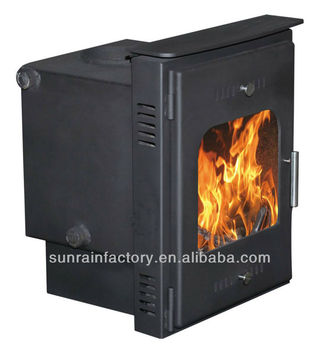 steel plate wood stove with boiler(XQ002)