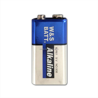 Aluminium Jacket 9v Alkaline Battery