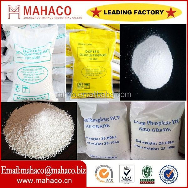 Directly manufacturer of high purity 99% dicalcium phosphate dihydrate with SGS/BV/ISO certificate