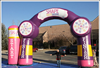 Best quality inflatable arch, advertising arch, inflatable archway with PVC tarpaulin, sealed