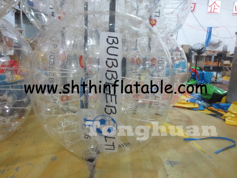 inflatable soccer bubble/inflatable bubble football