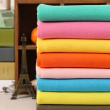 wholesale polyester cotton multicolor high quality micro velvet cotton fabric for bed sheet in roll