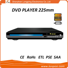 2017 Hot MTK/Sunplus solution Small size 2.0ch DVD Player From Shenzhen China Manufacturer