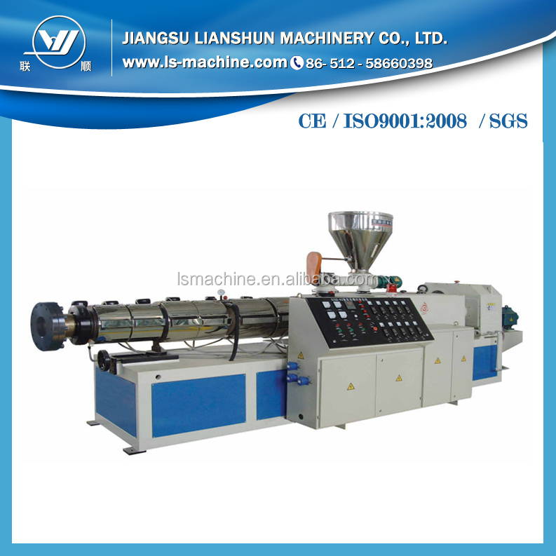China counter rotating twin screw extruders