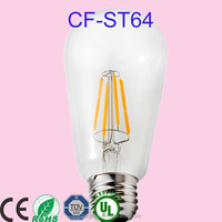 tungsten heat filament 4w chandelier led bulb e14 4w HPS bulb 150w low cost cfl lamp