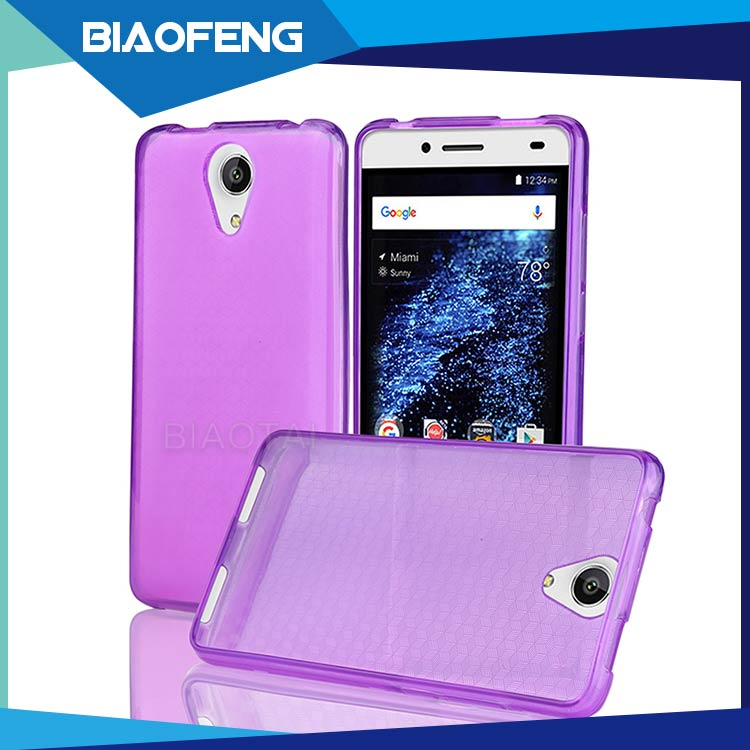 US standard hot sale 0.3mm clear transparent tpu case for blu studio selfie 2 S230Q