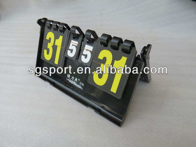plastic Table Tennis Scoreboard