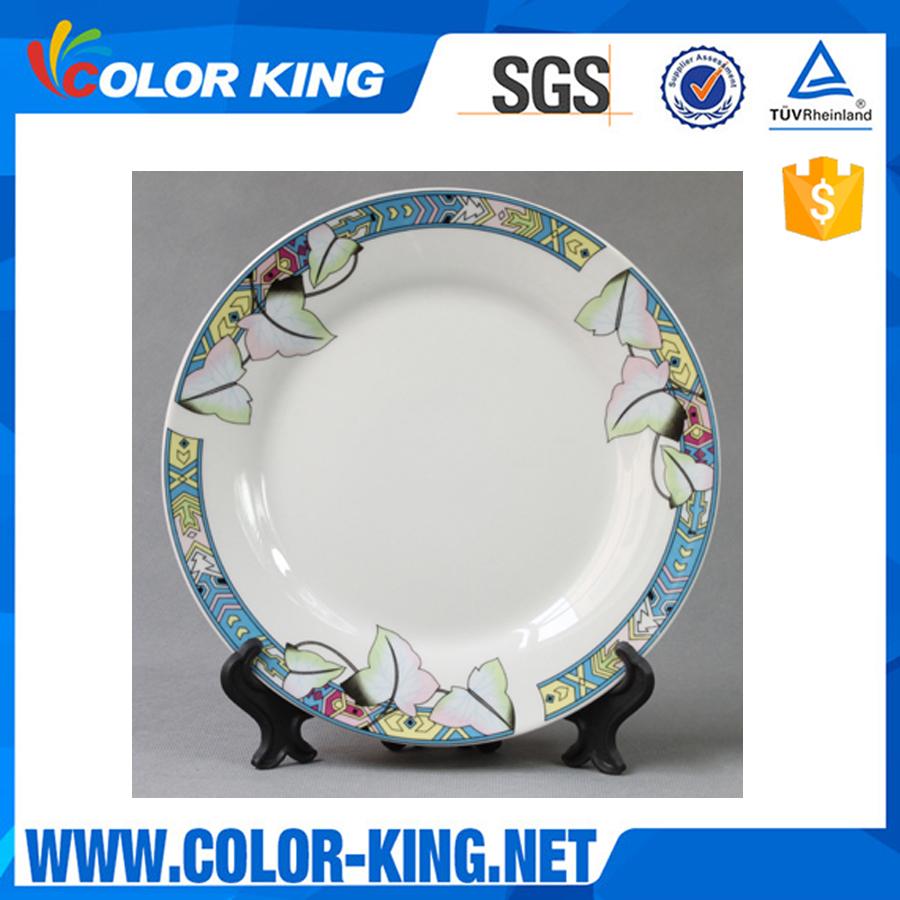 White ceramic plates for crafts - Dinnerware Sets Jingdezhen Porcelain Dinner Strong Plate Strong Bone China Ceramic