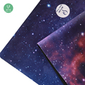 Non Slip Eco-friendly Jute Printing Microfiber Yoga Mat
