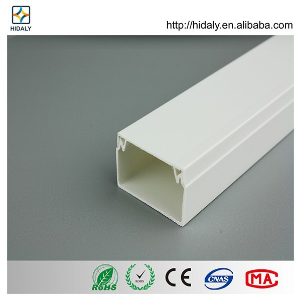 Wholesale in THAILAND Electrical pvc Trunking Fittings Plastic Channels