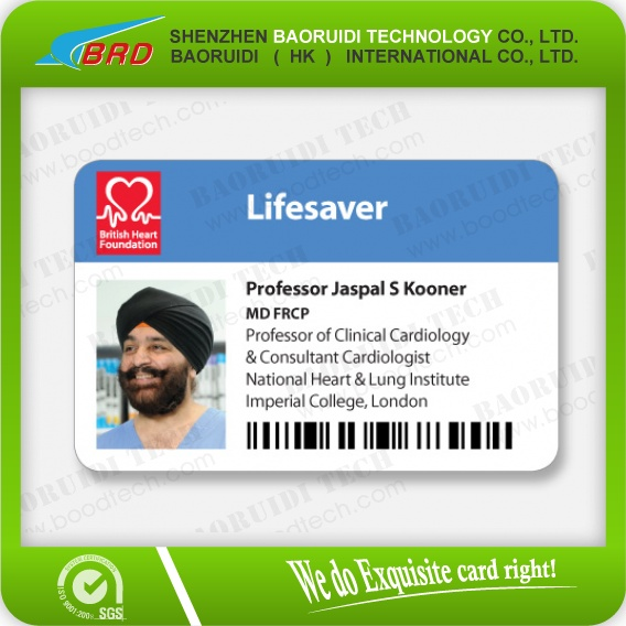 Staff/employee/student/work Permit Id Card - Buy Employee Id Cards ...