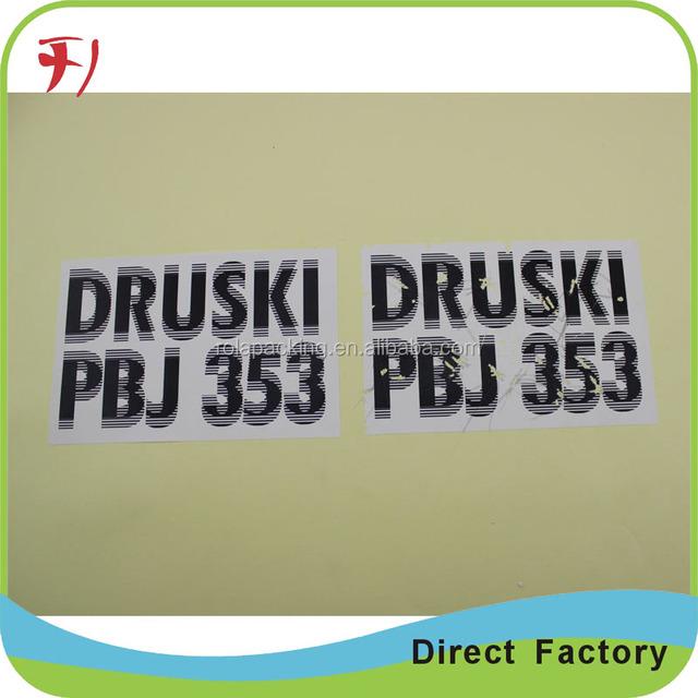 Wholesale Price Custom White Blank Fragile Sticker Paper Destructible Security Eggshell Adhesive Vinyl Rolls