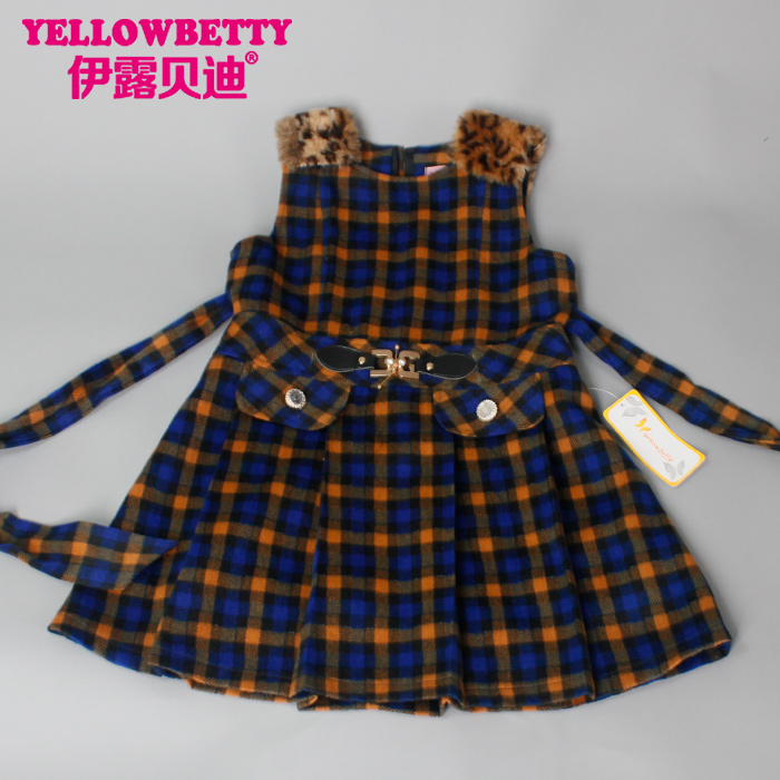 Hot sale high quality child girls dress children latest fashion dress design