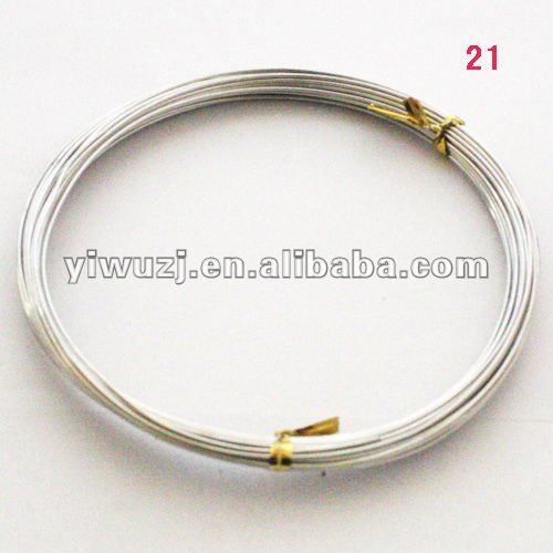 white aluminum wire ,white fashion aluminum wire white fashion AL-wire line string cord thread
