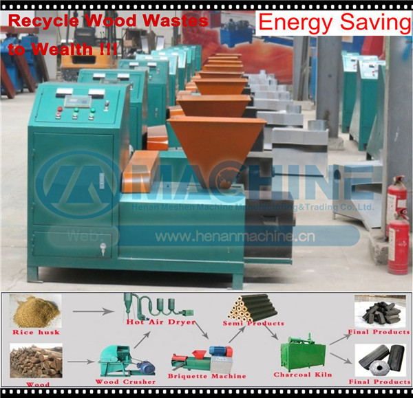 easy accessable wood sawdust briket machine at competitive price