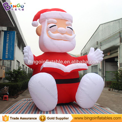 2018 inflatable christmas giant old man reading book