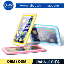 "Multi-colors 7"" A33 quad core kids tablet pc price china"