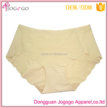 China Supplier polyester Seamless Underwear Nude Women Panty