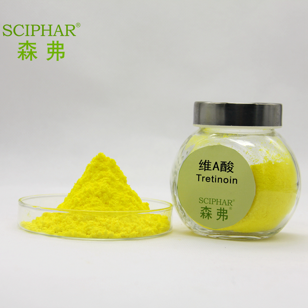 Factory supply Acne / Anti-Acne / Vitamin A Retinoic Acid / Isotretinoin / Tretinoin powder