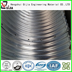 galvanized steel pipe road culverts tube9 tunnel liner plates hot dipped coating steel corrugated pipe