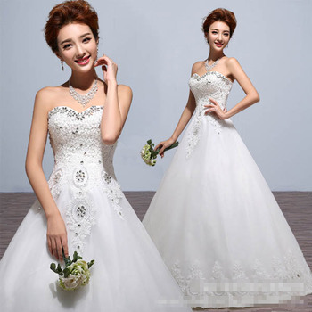 Hot princess wedding dress 2017 plus size fashionable cheap wedding dresses wedding gown
