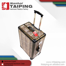 China manufacturer wholesale aluminum rolling travel case