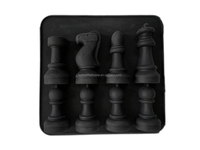 New design silicone chess ice tray