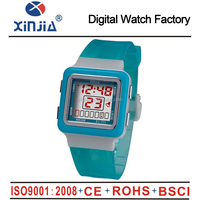 fashion beautiful multi-function digital lady watch