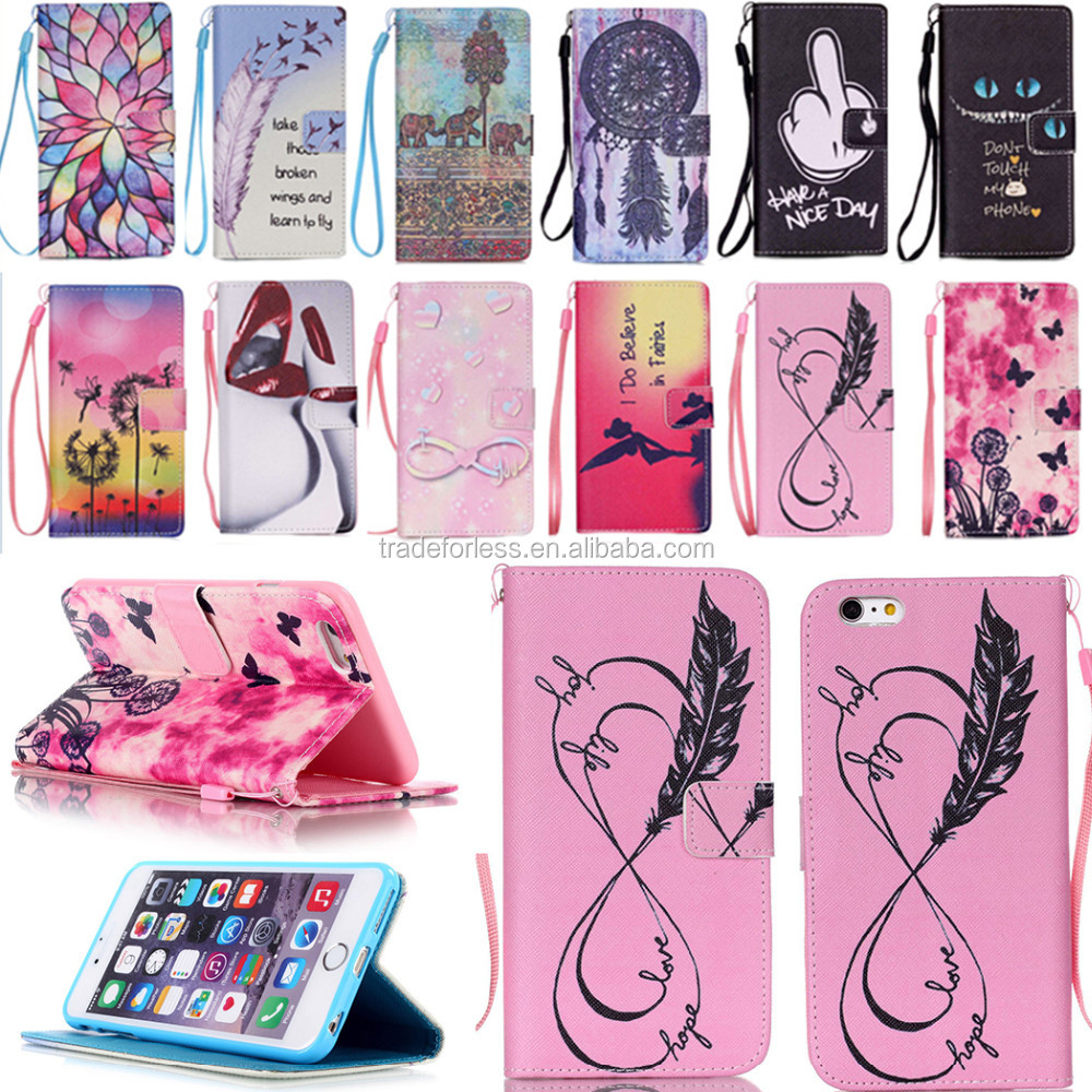 PU Book Style Wallet Flip Bag Case Cover Etui for Samsung Galaxy S3 S4 S5 mini S6 S7 Edge J1 J3 J5 J7 A3 A5 A7 A9 2016 Picture