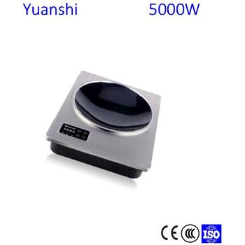 Simple easy-use best quality 5000W Single electric induction cooktop electromagnetic oven smart stove
