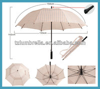 Vintage Personalized Best Windproof ladies Golf Umbrella