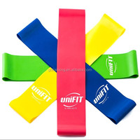 New fashion Custom Physical Fitness Therapy 4Level Exercise Bands set