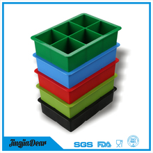 king size silicon ice cube maker,silicone ice cube tray,square ice cube maker