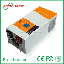 <Must Solar> Hot! CE ISO approved 1000w-6000w off grid 40A/60A MPPT charge controller current inverter 48v 220v 5000w