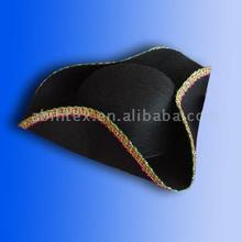 Pirate captain costume hat (MX-092) triangle felt party hat with ARTPRO brand