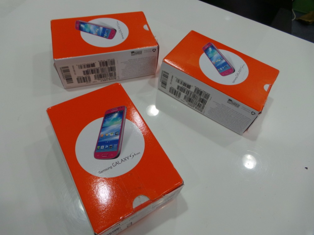 I257, OEM BOX SET, A-STOCK USED PHONE FOR SAMSUNG GALAXY S4 MINI,