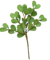 25cm fabic christmas decorative mistletoe