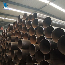Used for oil and gas transmission round Sprial welded steel pipe