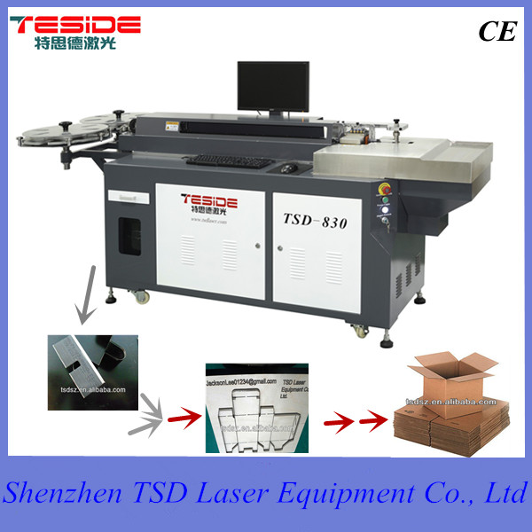 1000w die board laser cutting machine for mdf cutting