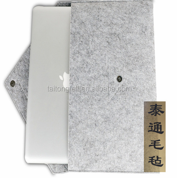 New Popular Strong Shockproof Protection Felt Laptop Sleeve From Alibaba Gold Supplier