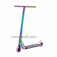 ShenZhen China high quality adult beautiful fashion cool sports stunt scooter for hot sale