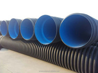 Hot sale HDPE corrugated pipe plastic polyethylene pipe for water drainage