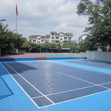 PP click floor for outdoor basketball