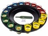 Funny 6-Cup Lucky Shot Drinking Roulette Game Set