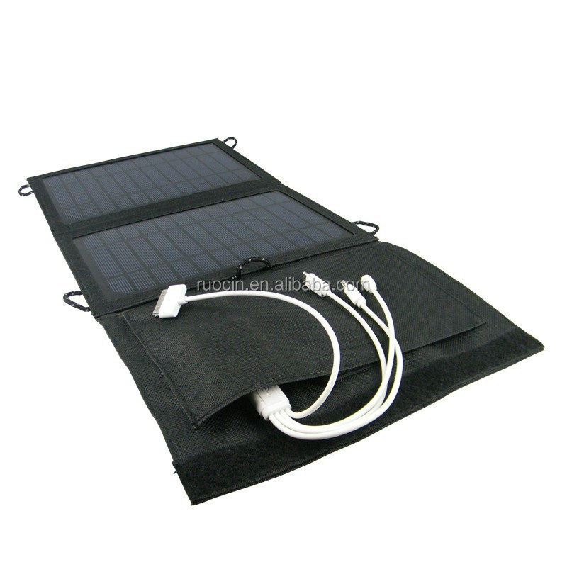 Portable Folding Solar Charger Panel USB Charger